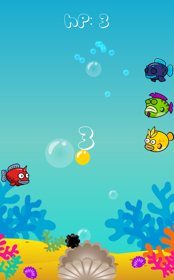 Fish bubble frenzy android apps on google play for Bubble fish games