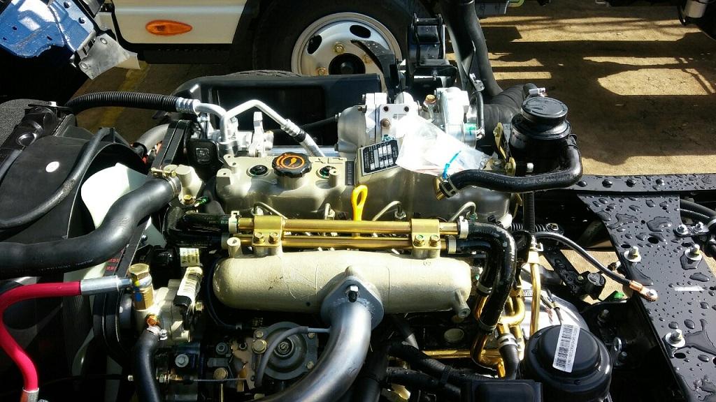 động cơ xe tải JAC 2t4