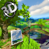 Parallax Nature: Summer Day 3D Gyro Wallpaper