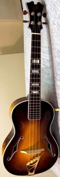 koll guitars archtop tenor ukulele