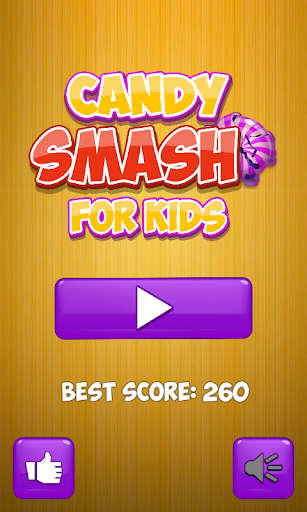 Kids games candy smash