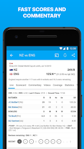 ESPNCricinfo – Live Cricket Scores, News & Videos  App Download For Android 3