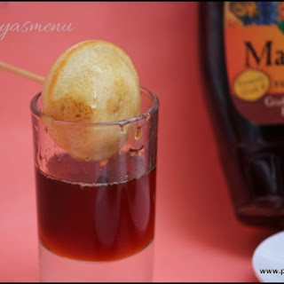 Maple Syrup Cake Balls / Maple Syrup Cake Paniyaram