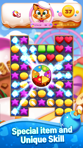 Sweet Cookie World : Match 3 Puzzle screenshots 4