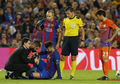 Trois défenseurs du Barça sont de nouveau opérationnels