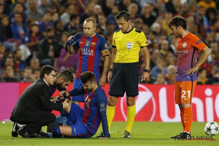 Piqué absent 3 semaines, Jordi Alba, 2