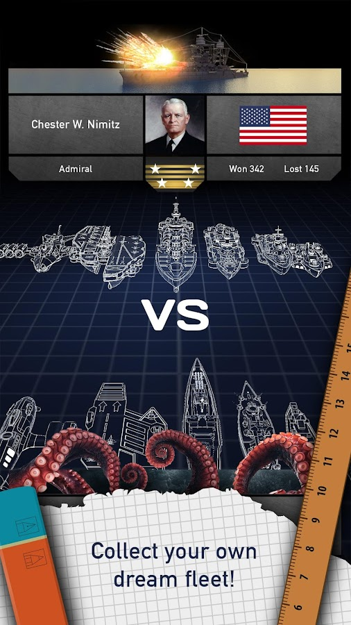 Battleships - Fleet Battle- screenshot