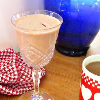 Chocolate Strawberry Protein Shake.