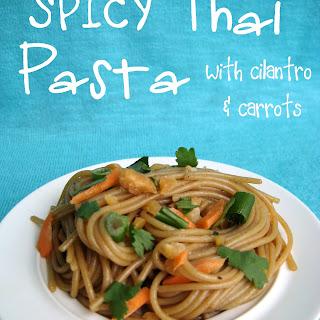 Spicy Thai Pasta.