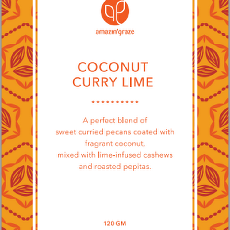 Coconut Curry Lime Pecan Mix (100g)