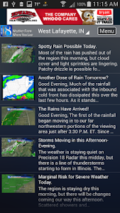 WLFI Weather screenshot 3