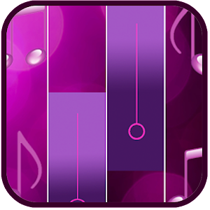 Piano Purple Tiles