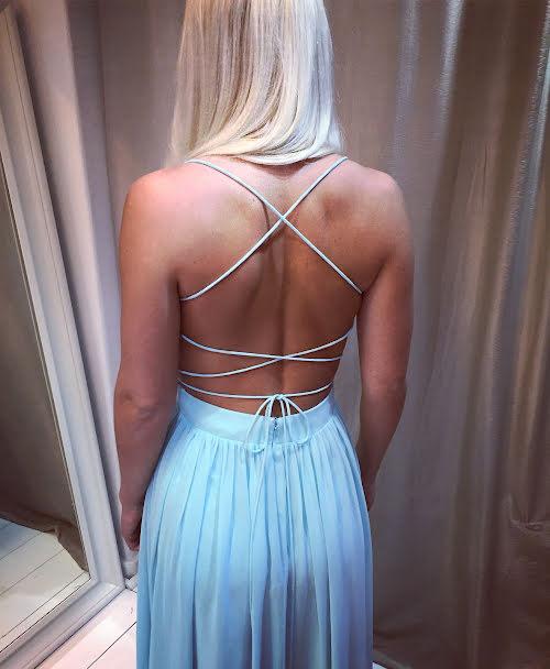 **REA** Kelly open back dress