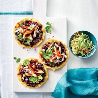 Weight Watchers Bbq Chicken Tostadas With Slaw