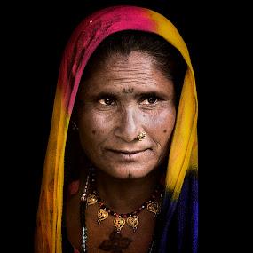 PORTRIAT by Saheb Sarkar - People Portraits of Women