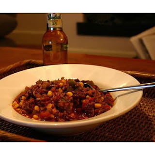 New Mexican Red Bean Chili.