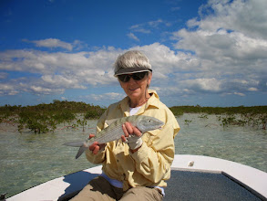"""Photo: Sandy Heinz- she's with the """"Big Cheese""""- her 5th trip to AIBC in the Fall of 2010"""