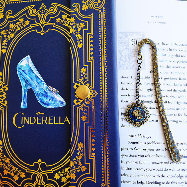 Cinderella Brass Bookmark by Swirls & Splashes