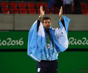 Zilveren medaille Juan Martin Del Potro krijgt uitstekend nieuws te horen van US Open