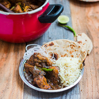 Dhaba Style Chicken Curry.
