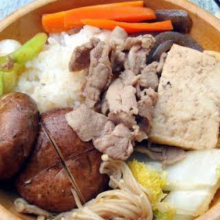 Pork Sukiyaki.