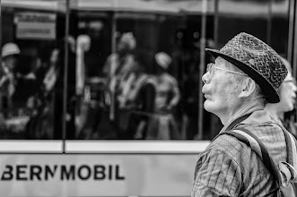 Photo: BERN MOBIL...  #street #streettogs #streetphotography #shootthestreet #blackandwhite #bw #monochrome