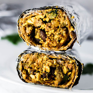 Freezer Vegan Breakfast Burrito Recipe