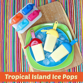 Tropical Island Ice Pops