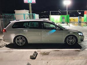 ゴルフ ヴァリアント AUCHP 1.4TSI  highlightの洗車のカスタム事例画像 golf7 _variant.jpさんの2019年01月21日21:54の投稿