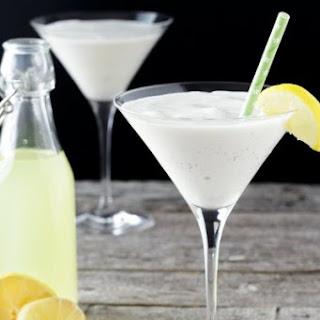 Creamy Limoncello Martini.
