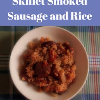 Skillet Smoked Sausage and Rice