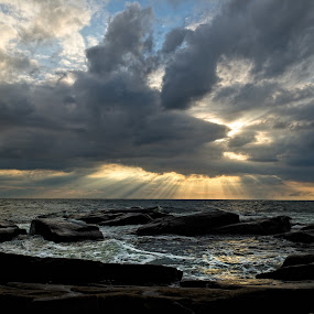 Light is hope by Sergei Pitkevich - Landscapes Waterscapes