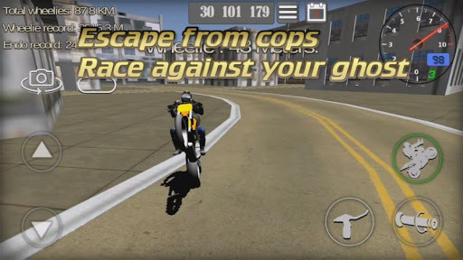 Wheelie King 3D - Realistic free  motorbike racing apklade screenshots 2