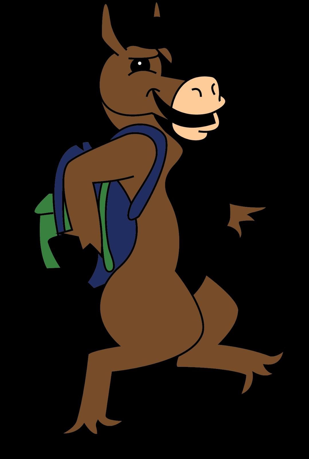 Buddy Bronco roj mascot