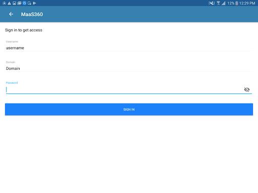 MaaS360 MDM for Android 6.05 screenshots 21