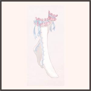 R-リボン靴下