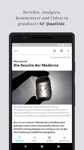SZ.de - Nachrichten - Süddeutsche Zeitung 12.0.0 screenshots 2