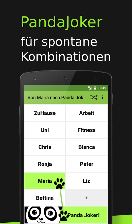 Pendel Panda Timetable- screenshot