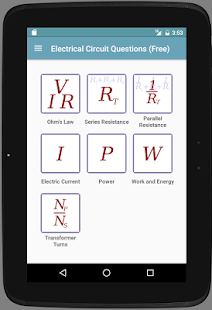 Electricity Questions- screenshot thumbnail