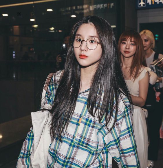 heejin plaid 16