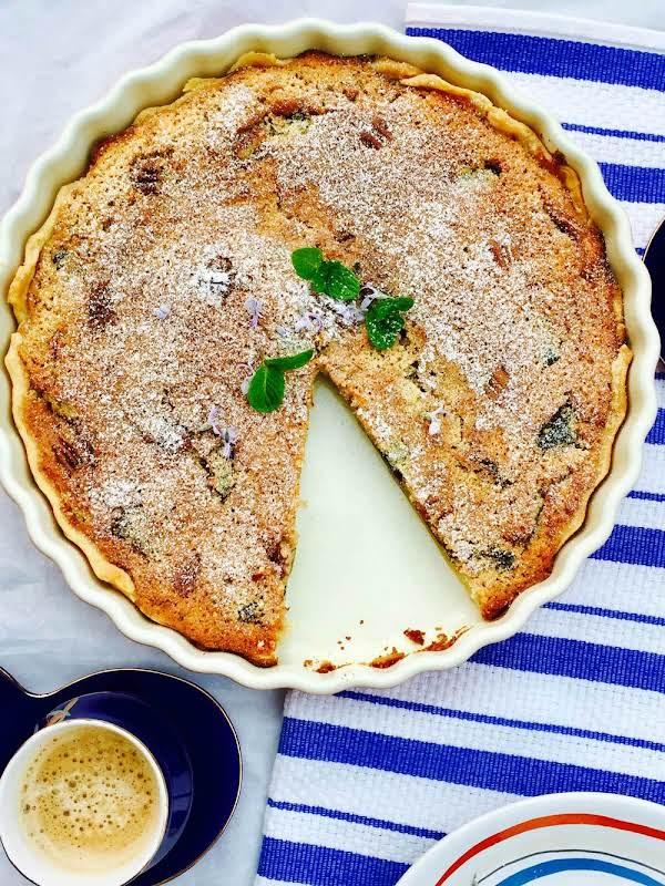 Almond, Apricot And Limoncello Tart Recipe
