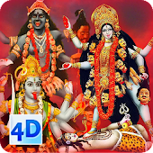 4D Maa Kali Live Wallpaper