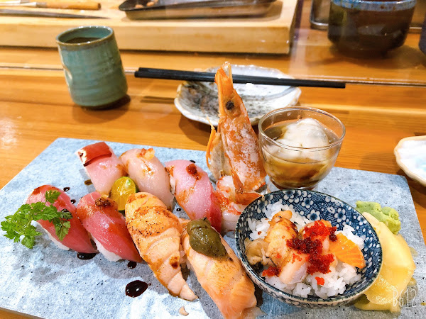 以餐點價位及味道來看CP值很高,初訪是吃握壽司8貫,下次會再試試其他餐點,想吃的建議先訂位,不然現場候位要等有點久。