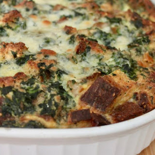 Spinach and Sausage Strata Recipe