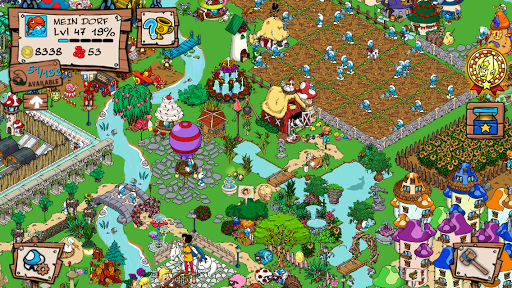Smurfs' Village ойындар (apk) Android/PC/Windows үшін тегін жүктеу screenshot