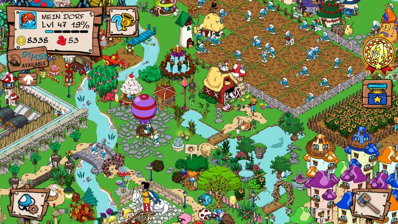 Smurfs' Village Screenshot 5