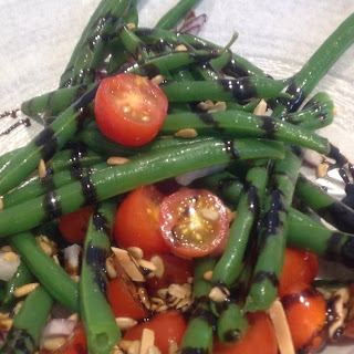 Green Bean Salad with a Balsamic Glaze for Memorial Day BBQ
