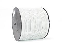 White PRO Series PETG Filament - 3.00mm (10lb)