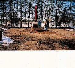Photo: Ground Breaking, April 2008