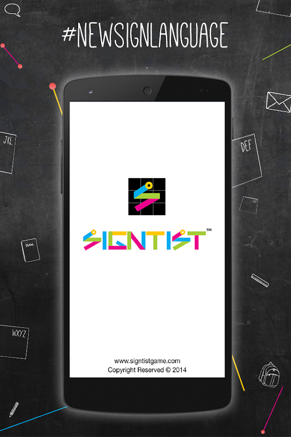 Signtist-New Word Puzzle-Free- screenshot